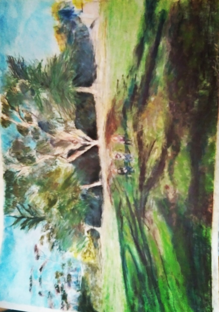 Drawn in Pastel